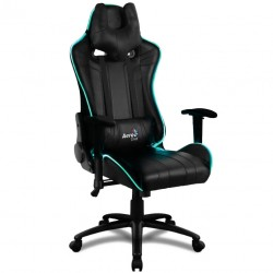 Fauteuil Gamer Aerocool AC120 Air LED RGB similicuir Noir