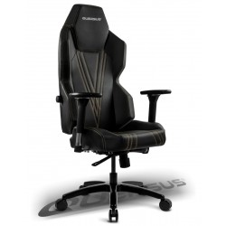 Fauteuil gamer QUERSUS GEOS 703 Noir (coutures Or)