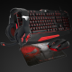 Pack gamer Spirit of Gamer 4 en 1 Noir et Rouge