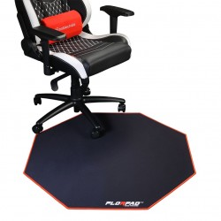 Tapis de sol gamer FLORPAD RED LINE - Rouge