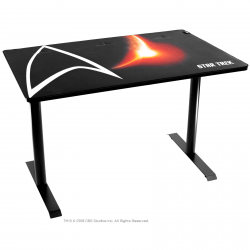 Bureau gaming AROZZI ARENA STAR TREK Edition Noir