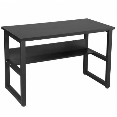 Bureau d'ordinateur SONGMICS WILLIAM Noir