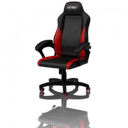 Chaise gamer NITRO CONCEPTS C100 Noir et Rouge