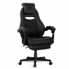 Chaise gamer Spirit Of Gamer WILDCAT en similicuir Noir