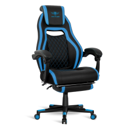 Chaise gamer Spirit Of Gamer WILDCAT en similicuir Bleu