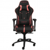 Chaise gamer REKT TEAM8 FLUO en similicuir Noir et Rose