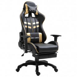 Chaise gamer VDX XTREME RELAX Noir et Or