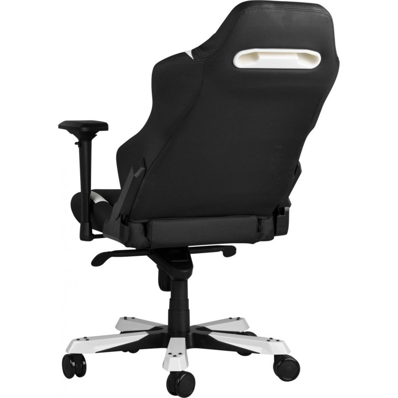 fauteuil gamer dxracer iron noir et blanc v3 fauteuilgamer. Black Bedroom Furniture Sets. Home Design Ideas