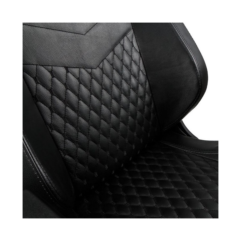 fauteuil noblechairs epic gaming cuir noir fauteuilgamer. Black Bedroom Furniture Sets. Home Design Ideas