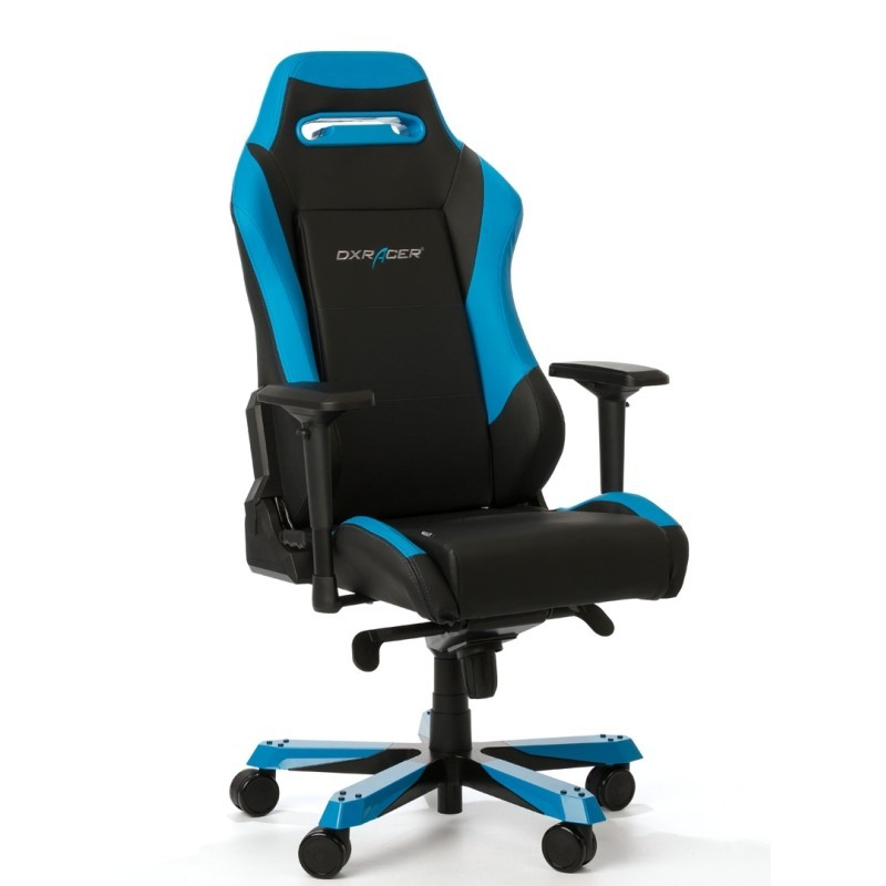 fauteuil gamer dxracer iron bleu et noir v2 fauteuil gamer. Black Bedroom Furniture Sets. Home Design Ideas