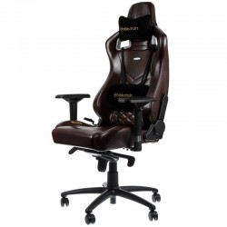 Fauteuil NOBLECHAIRS EPIC Gaming CUIR Brun