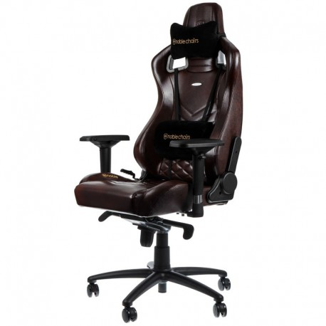 fauteuil noblechairs epic gaming cuir brun fauteuilgamer. Black Bedroom Furniture Sets. Home Design Ideas