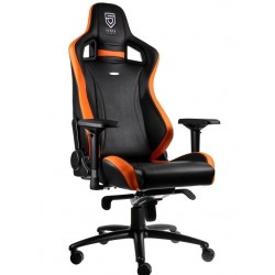 Fauteuil NOBLECHAIRS EPIC PENTA Sports Edition Noir et Orange