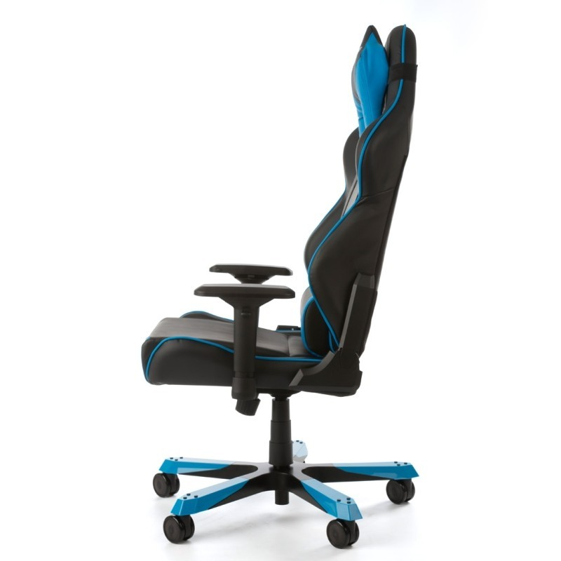 fauteuil gamer dxracer tank noir et bleu fauteuilgamer. Black Bedroom Furniture Sets. Home Design Ideas