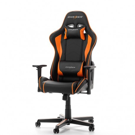 Fauteuil gamer DXRACER FORMULA PLAYER Noir et Orange (v3)