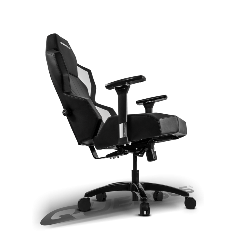 fauteuil gamer quersus geos 702 noir et blanc fauteuilgamer. Black Bedroom Furniture Sets. Home Design Ideas