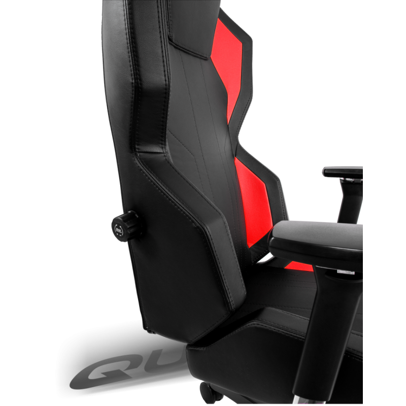 fauteuil gamer quersus geos 702 noir et rouge fauteuilgamer. Black Bedroom Furniture Sets. Home Design Ideas