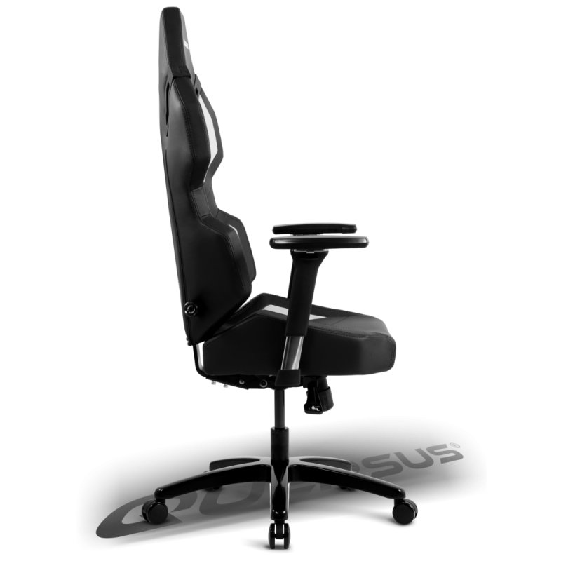 fauteuil gamer quersus evos 302 noir et blanc fauteuilgamer. Black Bedroom Furniture Sets. Home Design Ideas
