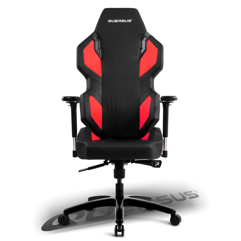 fauteuil gamer quersus evos 302 noir et rouge fauteuilgamer. Black Bedroom Furniture Sets. Home Design Ideas