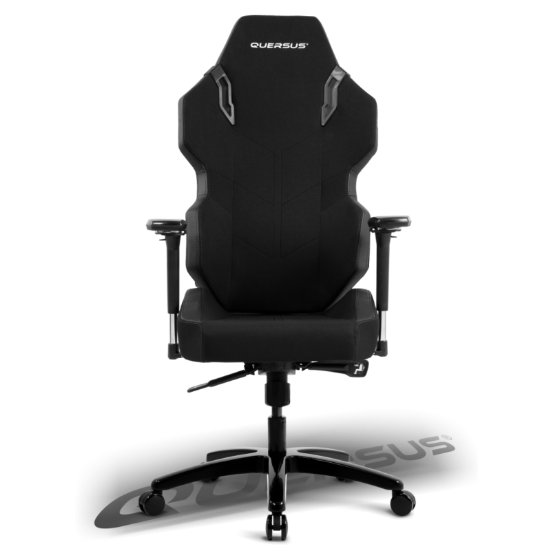 fauteuil gamer quersus evos 301 noir tissu fauteuilgamer. Black Bedroom Furniture Sets. Home Design Ideas