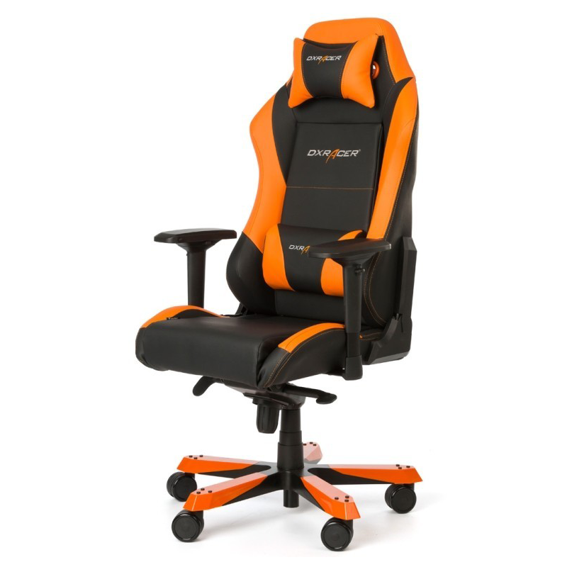 fauteuil gamer dxracer iron orange et noir v2. Black Bedroom Furniture Sets. Home Design Ideas