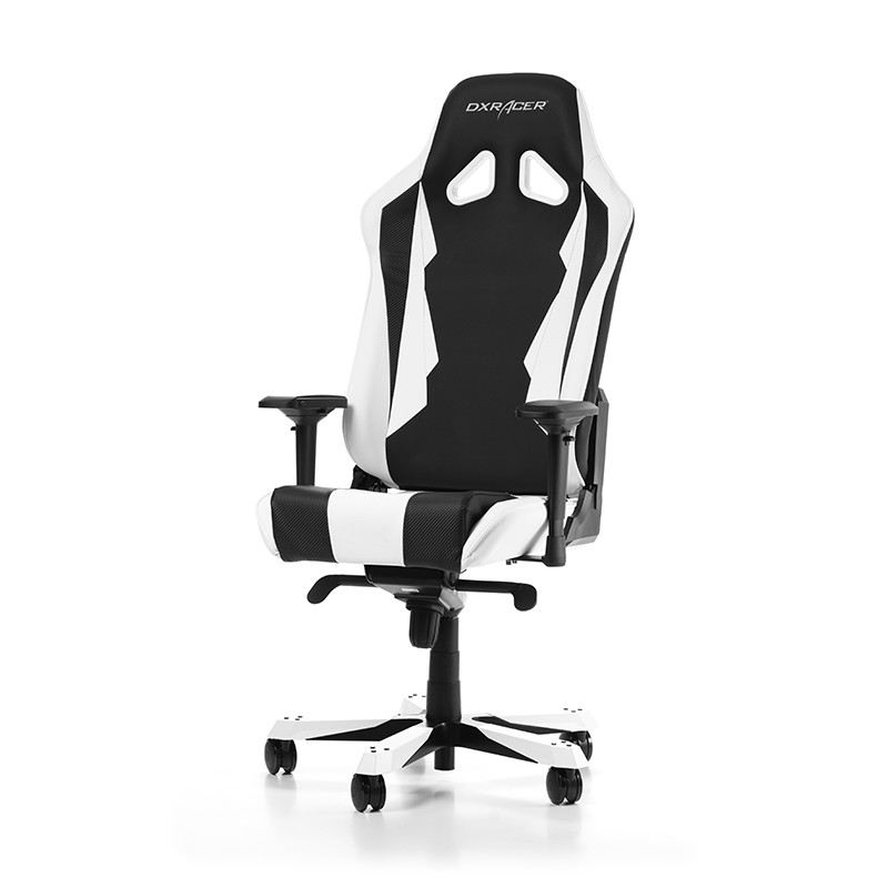 fauteuil gamer dxracer sentinel noir et blanc fauteuilgamer. Black Bedroom Furniture Sets. Home Design Ideas