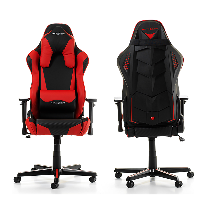 fauteuil gamer dxracer racing shield noir et rouge v2. Black Bedroom Furniture Sets. Home Design Ideas