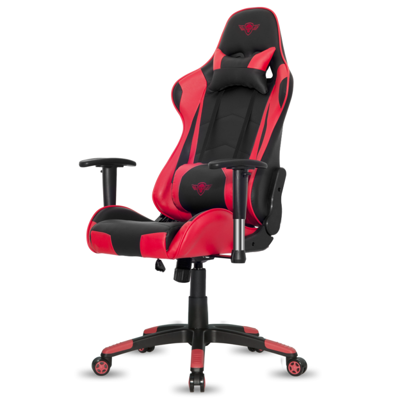 fauteuil e sport spirit of gamer demon noir et rouge fauteuilgamer. Black Bedroom Furniture Sets. Home Design Ideas