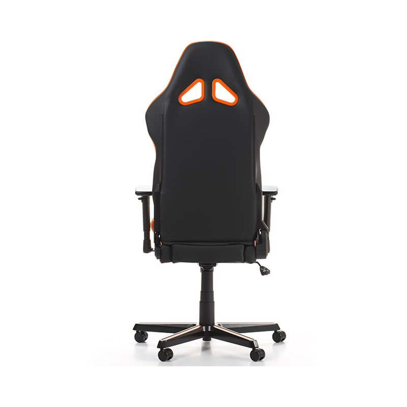 Fauteuil gamer dxracer racing noir et orange v3 for Designer stuhl transparent