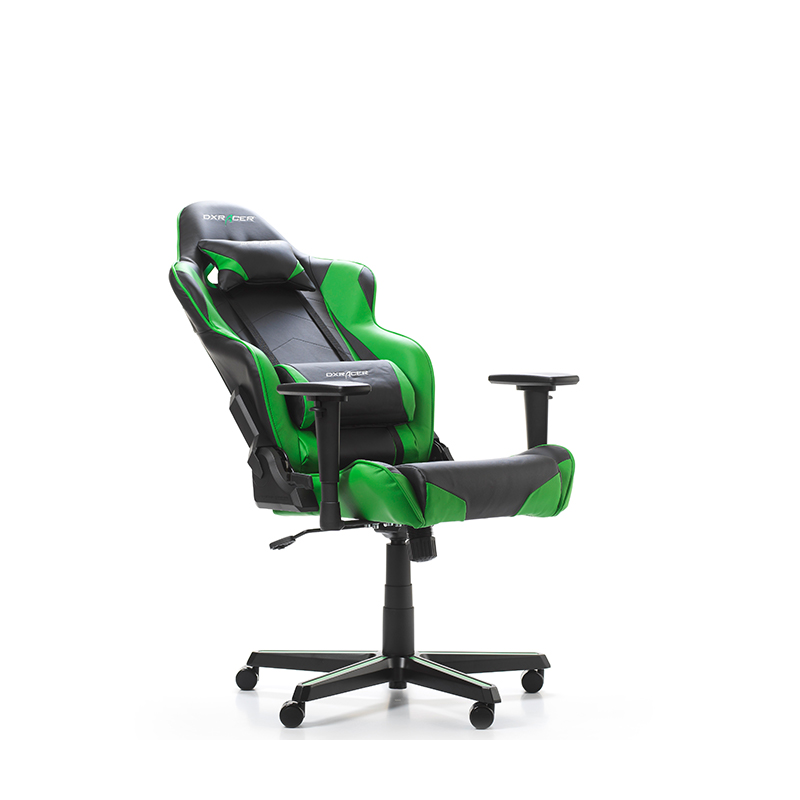 fauteuil gamer dxracer racing noir et vert v3. Black Bedroom Furniture Sets. Home Design Ideas