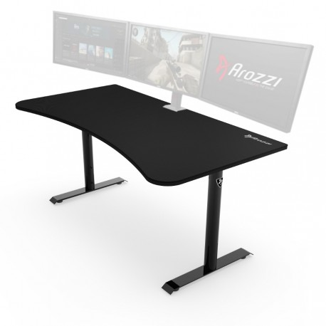 bureau gaming arozzi arena noir fauteuilgamer. Black Bedroom Furniture Sets. Home Design Ideas