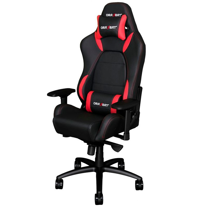 fauteuil gamer oraxeat tk1000 noir et rouge fauteuilgamer. Black Bedroom Furniture Sets. Home Design Ideas