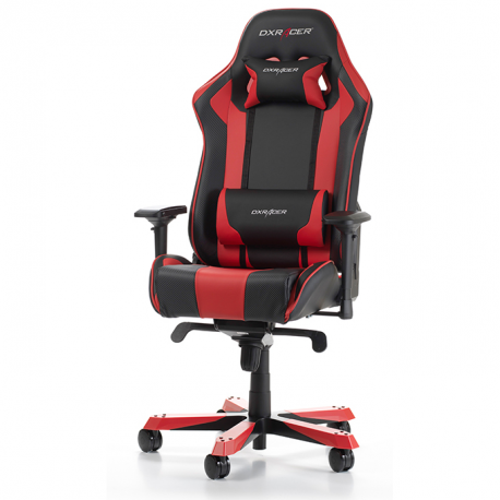 fauteuil gamer dxracer king noir et rouge v2 fauteuilgamer. Black Bedroom Furniture Sets. Home Design Ideas