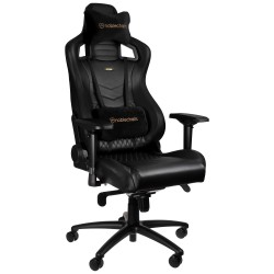 Fauteuil NOBLECHAIRS EPIC Gaming CUIR NAPPA Noir