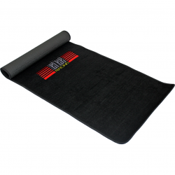 Tapis de simulation gamer Next Level Racing Noir mat (165 x 60 cm)
