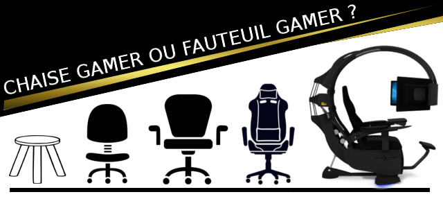 chaise gamer ou fauteuil gamer