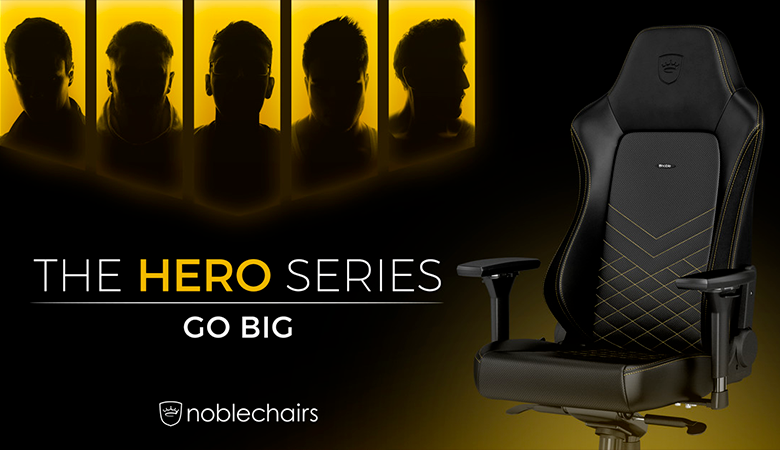 Fauteuil Gamer - Noblechairs HERODISPONIBLES