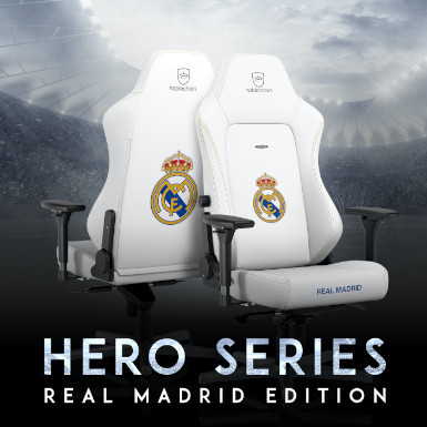 Fauteuil gamer Noblechairs REAL MADRID EDITION 2021